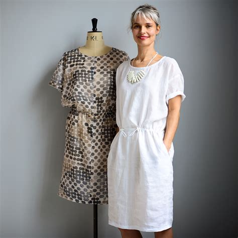 pattern tunic dress the utility dress tunic and top the maker s atelier