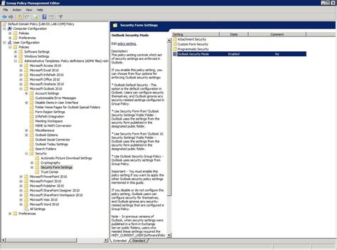 themes microsoft outlook 2010 protecting outlook 2010 with group policy security settings