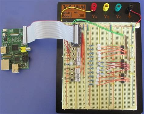 breadboard circuit practice computer laboratory raspberry pi section 3 turing machine hardware