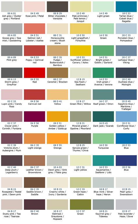 colour card jotun free image