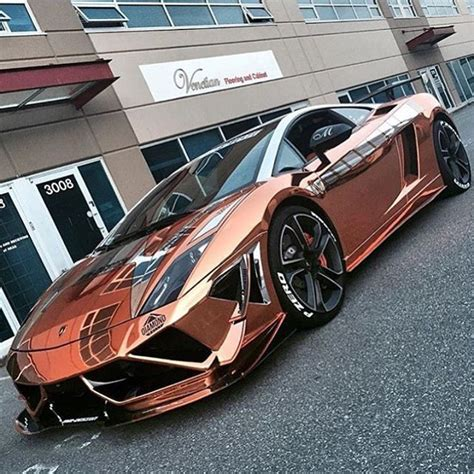 rose gold lamborghini rose gold gallardo supertrofeo follow the number one lambo