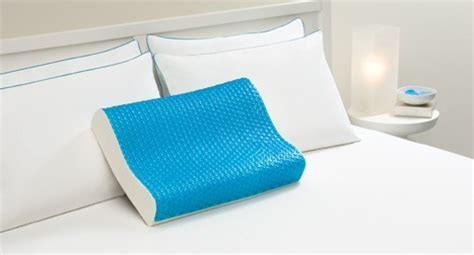cerulean bubbles hydraluxe cooling gel contour pillow