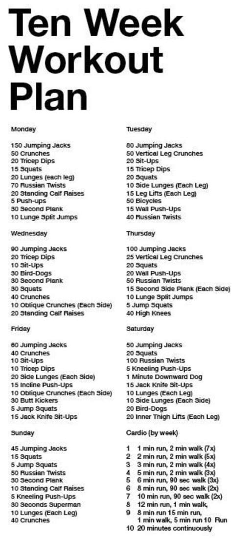 best 25 30 day workout plan ideas on 30 day