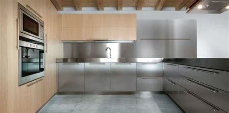 all stainless steel residential kitchen cabinets