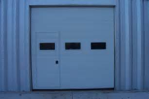 walk thru custom garage door walk thru door