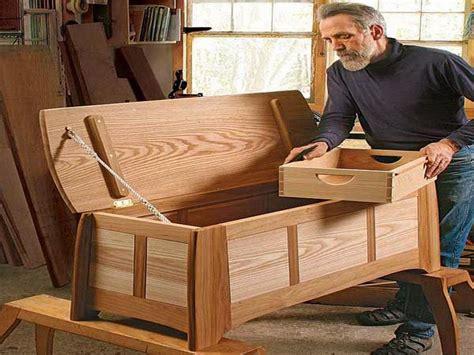woodwork hope chest building plans  plans pinteres