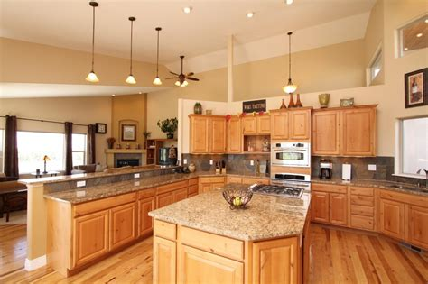 idea for kitchen cabinet hickory kitchen cabinets furniture