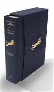 a game of thrones deluxe edition a song of ice and fire a game of thrones george r r martin deluxe slipcase edition 1st 1st voyager ebay