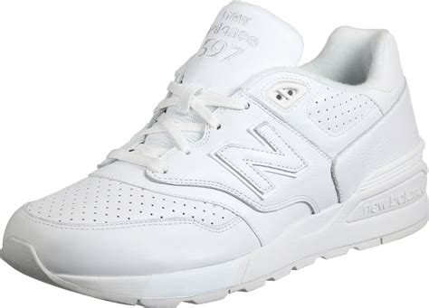 white new balance sneakers new balance ml597 shoes white