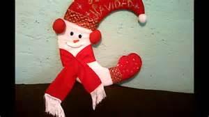 moldes de navidad en fieltro home manualidades manualidades en fieltro navide 209 o youtube