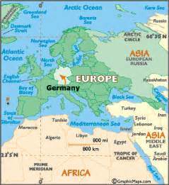Germany World Map by Germany Map Geography Of Germany Map Of Germany