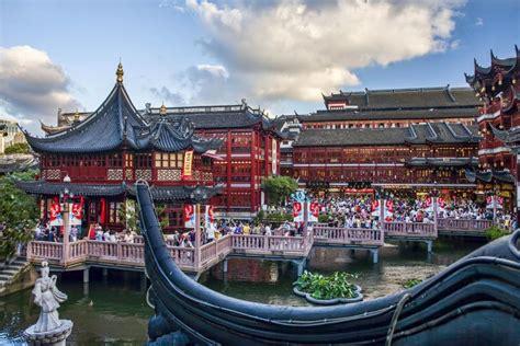 jardin yu le jardin yu la province de shanghai chine