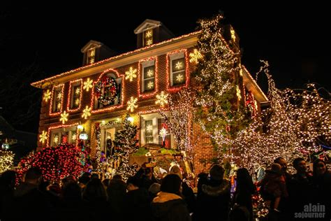 best christmas home decorations in brooklyn dyker heights lights in