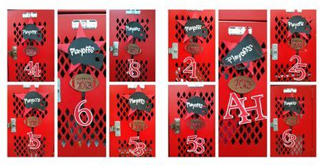 Football Locker Decorations by Pin By Ortiz On High School Spirit