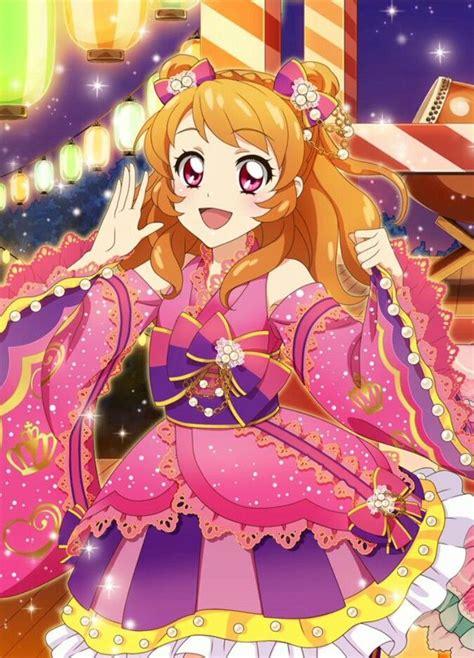 Stiker Yurika Todo akari pr3 aikatsu akari pr anime magical and