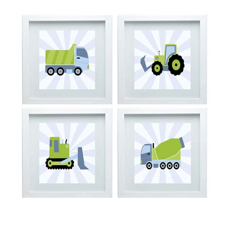 truck nursery decor construction nursery decor dump truck cement truck bulldozer