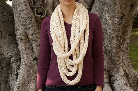 no knit scarf no knit scarf by dainty loops craftsy