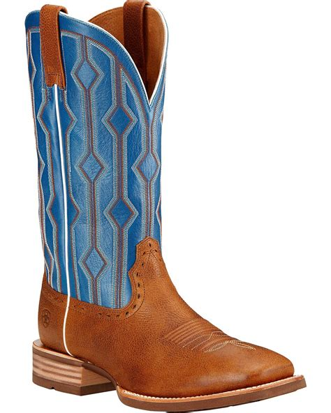 mens ariat square toe cowboy boots ariat s live wire cowboy boot square toe 10017386 ebay