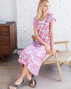 Nowella Exclusive Gown cozy sleepwear on pajamas garnet and eileen