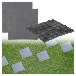 Plastic Pavers For Patio Plastic Patio Paving Slabs Imitation Garden Tile Effect Feature Path Lawn 163 6 75