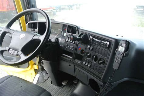 scania interni cabina scania r500 usato trattore stradale interdrive