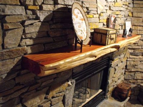 live edge cedar fireplace mantels made to by