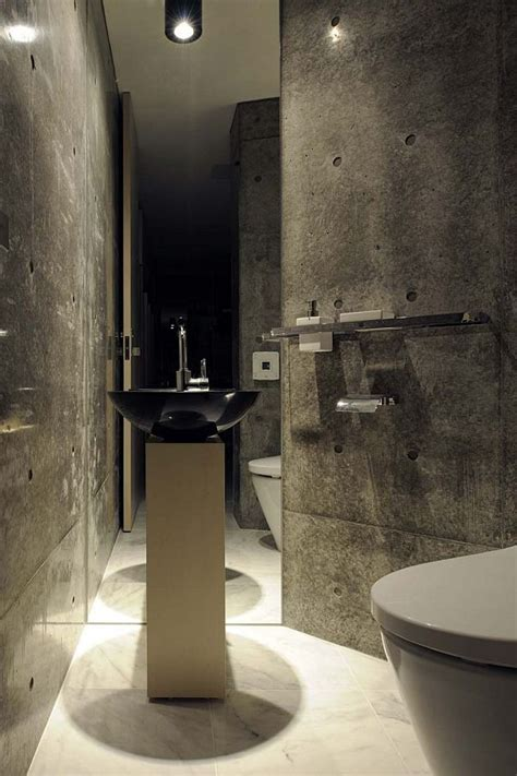 concrete bathrooms the sheer beauty of concrete walls
