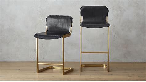 Home Design Bedding rake brass bar stools cb2
