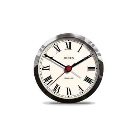 Alarm Clock Rome jones small tibbet alarm clock chrome with classic numerals jones clocks from www
