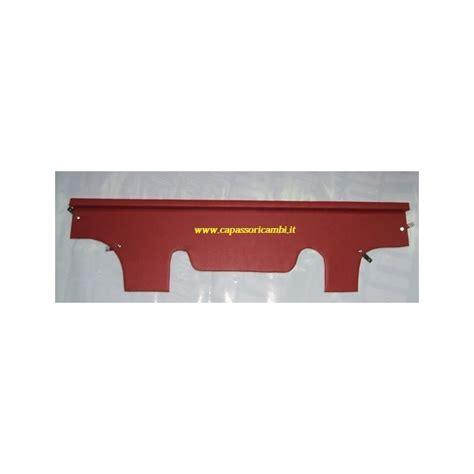 mensola rossa mensola portadocumenti sotto cruscotto rossa fiat 600