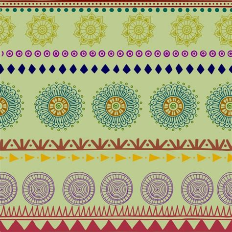 tribal pattern origins القبلية نمط الخلفية الملونة تكرار نمط بوهو نمط مكافحة