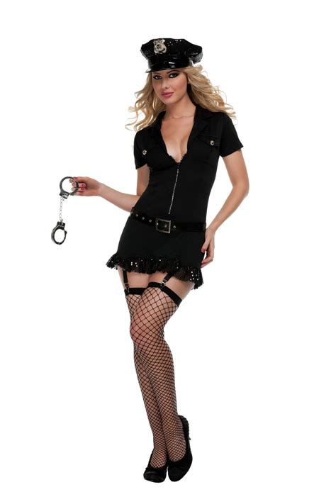 frisk    costume sexy police costume  woman dress