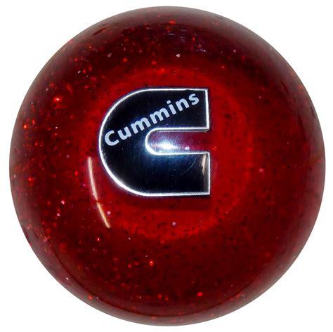 cummins c logo glitter shift knob