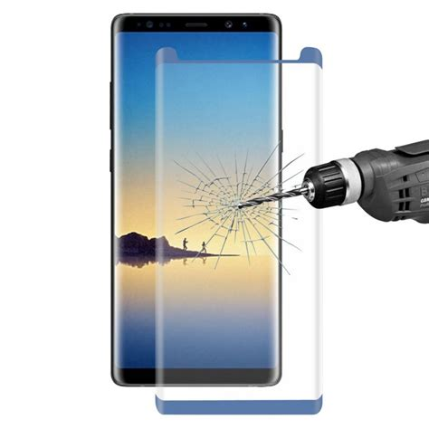 Flip Cover Clear Tempered Glass Samsung Note 8 samsung galaxy note 8 tempered glass blue