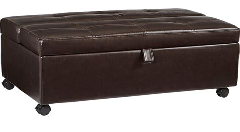 stillmore coffee sleeper ottoman 299 99 stillmore coffee sleeper ottoman contemporary