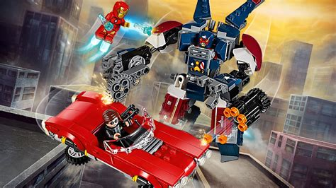 76077 Lego Marvel Heroes Iron Detroit Steel Strikes 76077 iron detroit steel strikes products marvel