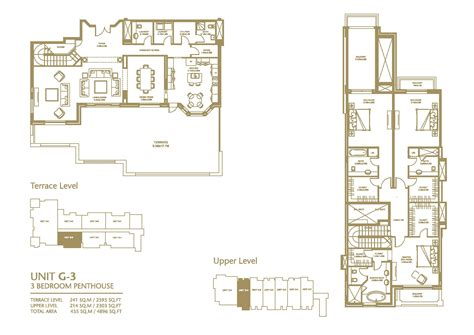 mile one floor plan unit g3 golden mile palm jumeriah