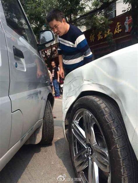 bentley minivan minivan hits bentley compensation sought chinasmack