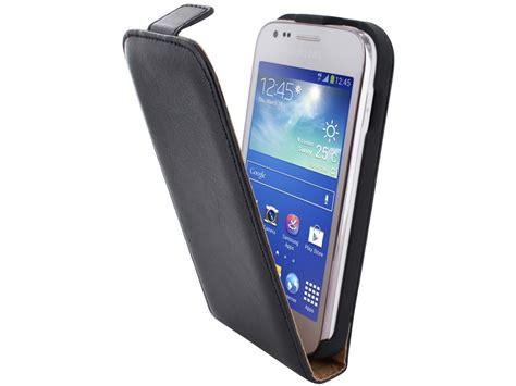 Flipcover Wallet Samsung Ace 3 mobiparts classic kunstleren flip voor samsung galaxy ace 3