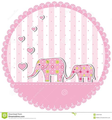 New For Baby Showers by New Baby Shower Invitation Card Stock Photos Image 24051923