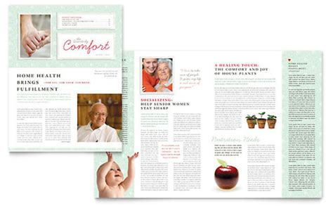 health newsletter templates free health care newsletters templates designs
