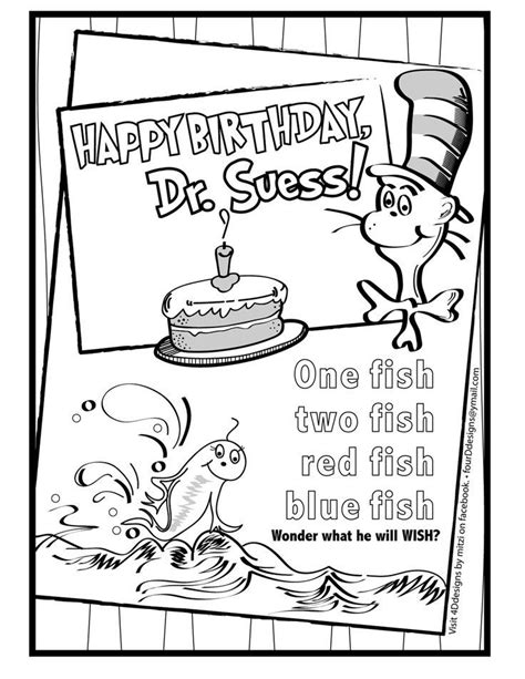 happy birthday coloring pages pdf happy birthday dr seuss color sheet happy birthday dr