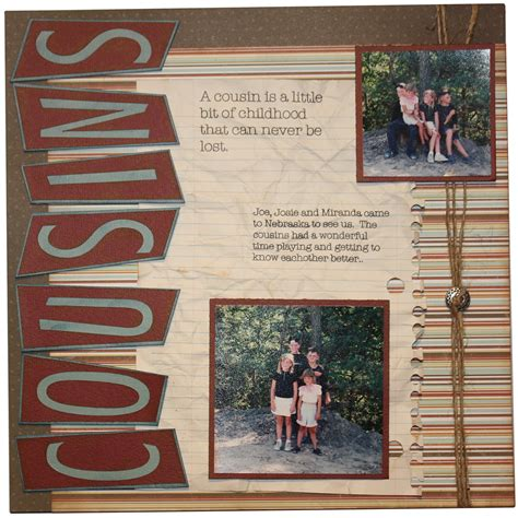 scrapbook layout craft cousins scrapbook layout pazzles craft room