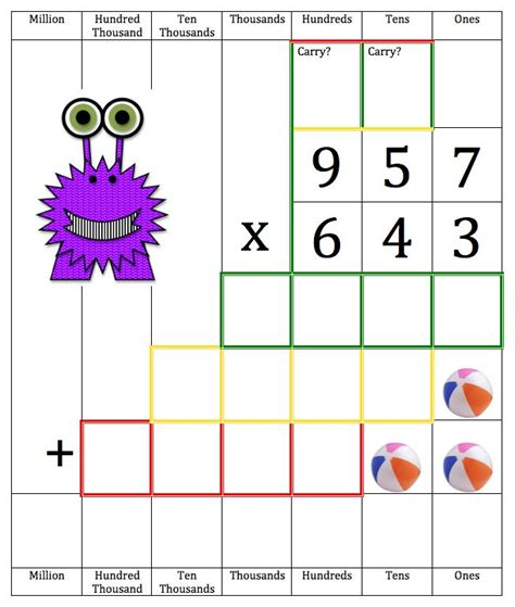 printable multiplication games ks2 long multiplication activities ks2 slep long