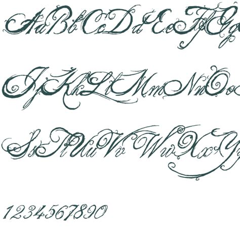 tattoo font king queen 8 king and queen font alphabet images fancy cursive