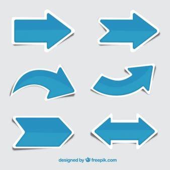 free 2 shape arrows vector psd titanui flecha fotos y vectores gratis