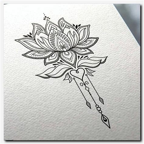 cute small lower back tattoos flowers drawings inspiration tattoodesign