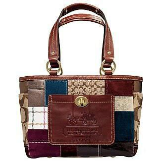 Coach Patchwork Gallery Tote - image unavailable image not available for color sorry this