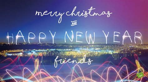 merry christmas  happy  year wishes  great friends