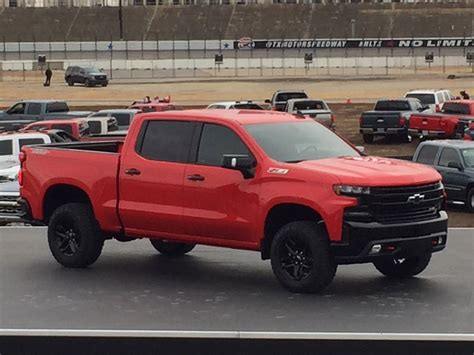 2019 Chevy Silverado by 2019 Chevy Silverado Trail Revealed At Anniversary